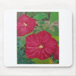 Hibiscus #3 Painting Mouse Pads