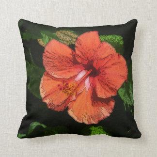 Hibiscus 424 Pillow