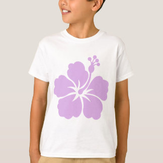 hibiscus aloha flower lavender T-Shirt