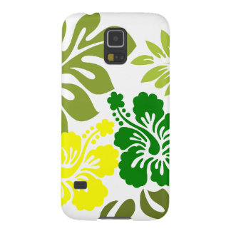 Hibiscus and Leaves Hawaii gifts Galaxy S5 Cover