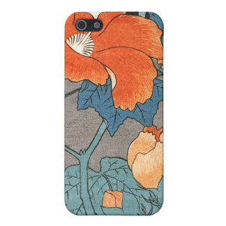 Hibiscus, Ando Hiroshige Case For iPhone SE/5/5s