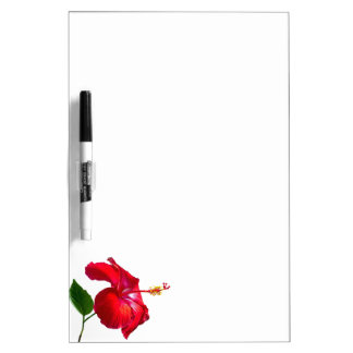 Hibiscus Blossom Dry Erase Board