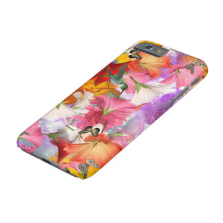 Hibiscus Butterflies Barely There iPhone 6 Case