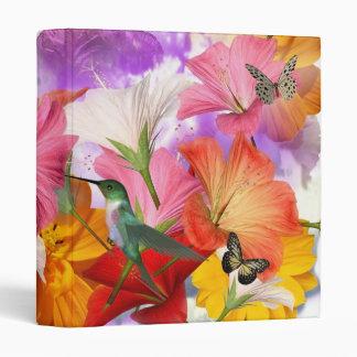 Hibiscus Butterflies Binder