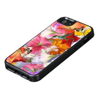 Hibiscus Butterflies OtterBox iPhone SE Case