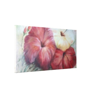 Hibiscus canvas stretched canvas print