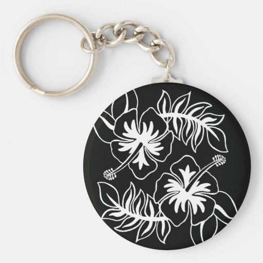 Hibiscus Design original Key Chains