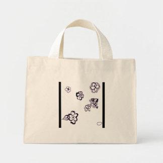 Hibiscus Exposed Mini Tote Bag
