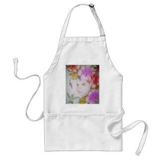 Hibiscus Fairy (2) Adult Apron
