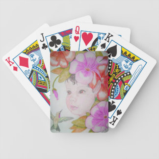 Hibiscus Fairy Playing cards