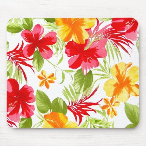 Hibiscus Fiesta mousepad mousepad