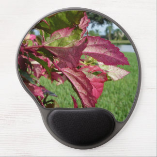 """Hibiscus """"Fire and Ice"""" Plant Gel Mouse Pad"""