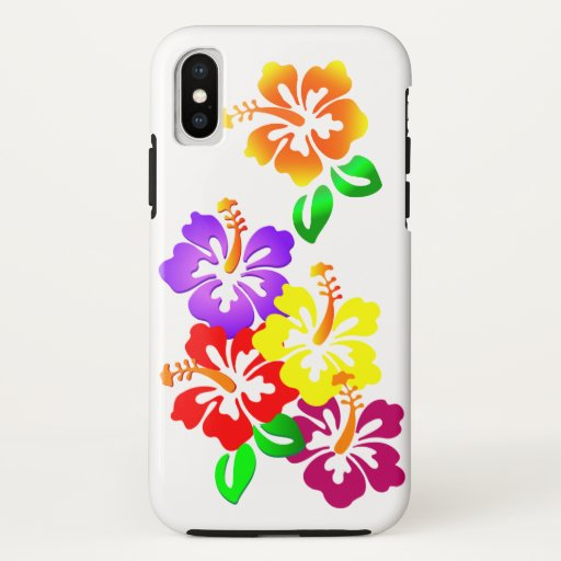 Hibiscus Floral iPhone 3G/3GS Barely There Case