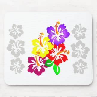 Hibiscus Floral Mousepad