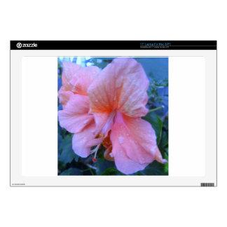 """Hibiscus Flower 17"""" Laptop Skin"""
