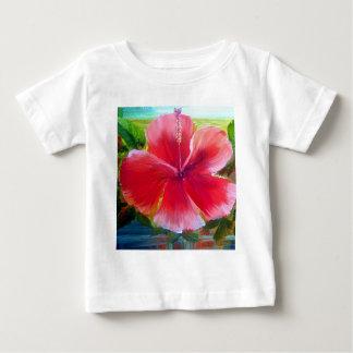 Hibiscus Flower Art Tee Shirt