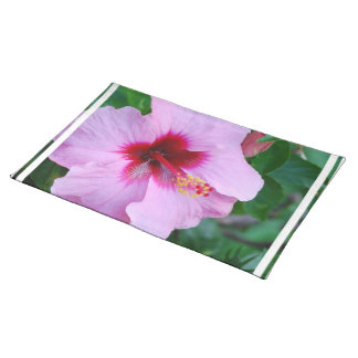 Hibiscus Flower Blossom Place Mats