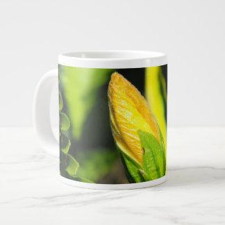 Hibiscus Flower Bud Large Coffee Mug
