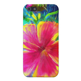 Hibiscus Flower Cover For iPhone 5/5S