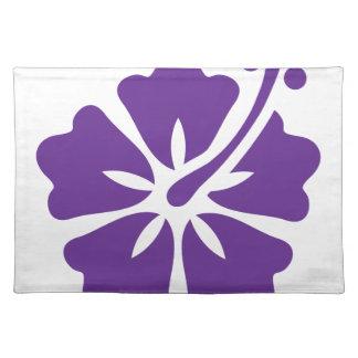 Hibiscus flower design placemats
