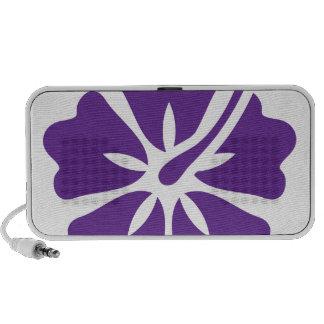 Hibiscus flower design mp3 speaker