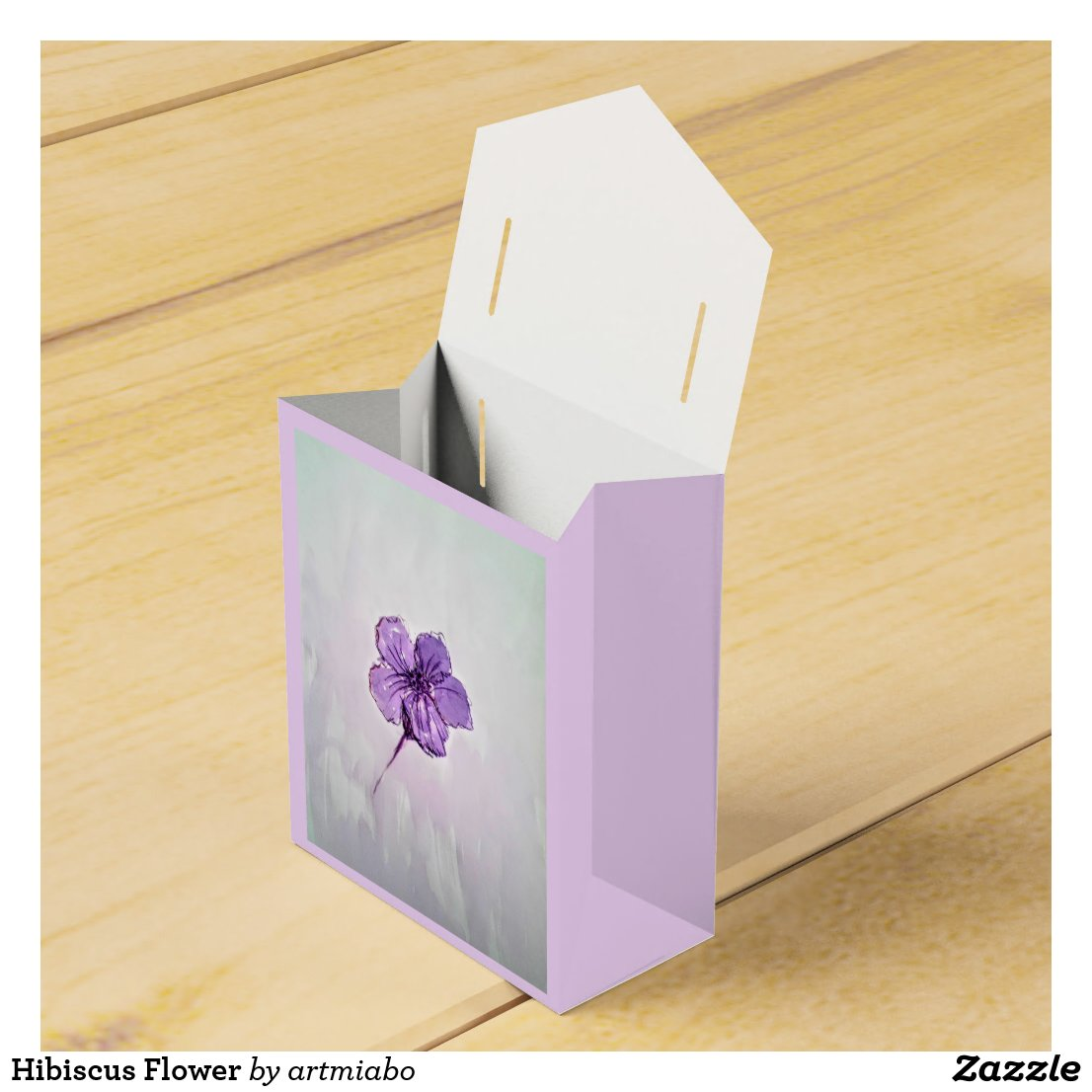 Hibiscus Flower Favor Box