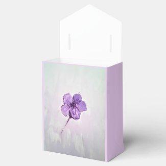 Hibiscus Flower Favor Box