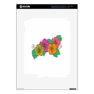 Hibiscus Flower iPad 3 Decals