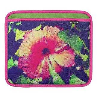 HIBISCUS FLOWER iPad Sleeve
