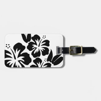 Hibiscus flower tags for luggage