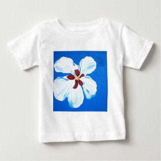 Hibiscus Flower Painting Baby T-Shirt