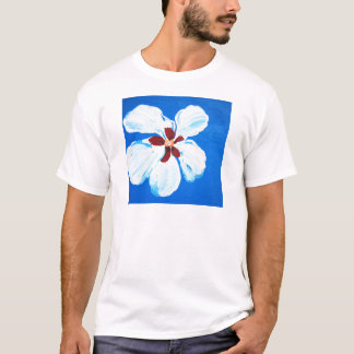 Hibiscus Flower Painting T-Shirt