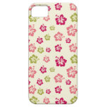 Hibiscus Flower Pattern Iphone 5/4G Case iPhone 5 Cover