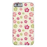 Hibiscus Flower Pattern iPhone 6 case/4G Case iPhone 6 Case