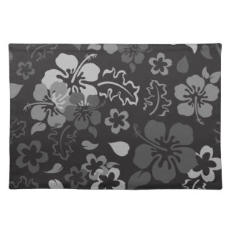 Hibiscus Flower Pattern Placemat