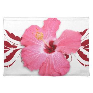 Hibiscus Flower Place Mat