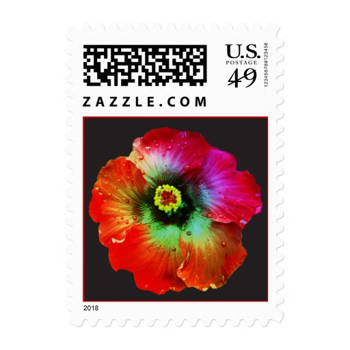 Hibiscus Flower Stamp
