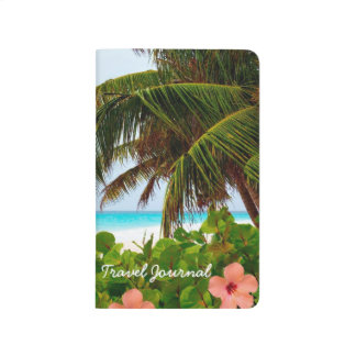 Hibiscus Flower Tropical Beach Travel Journal