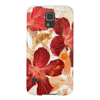 Hibiscus flower - watercolor paint 2 case for galaxy s5