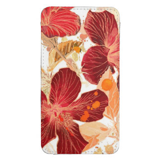 Hibiscus flower - watercolor paint 2 galaxy s4 pouch