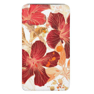 Hibiscus flower - watercolor paint 2 galaxy s5 pouch
