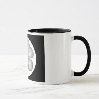 Hibiscus Flower - White Mug
