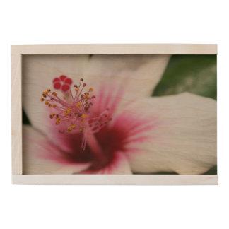 Hibiscus Flower Wooden Keepsake Box