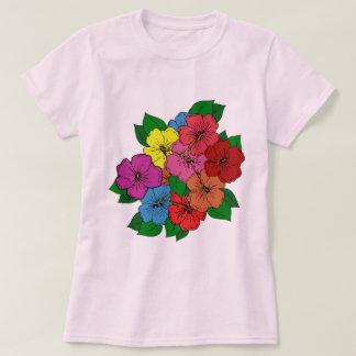 Hibiscus Flowers #15 T-Shirt