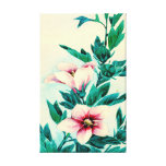Hibiscus Flowers 1870 Gallery Wrap Canvas