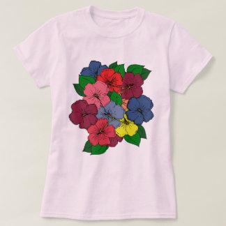Hibiscus Flowers #8 T-Shirt