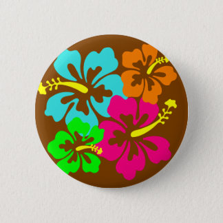 Hibiscus flowers button