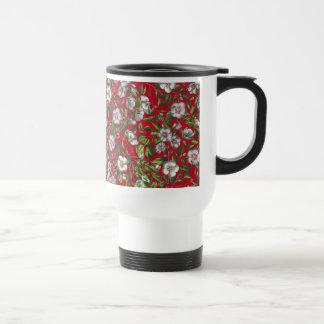 Hibiscus Flowers Floral Tropical Mug