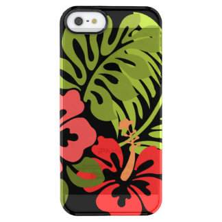 Hibiscus Flowers Uncommon Clearly™ Deflector iPhone 5 Case