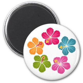 Hibiscus Flowers Magnet
